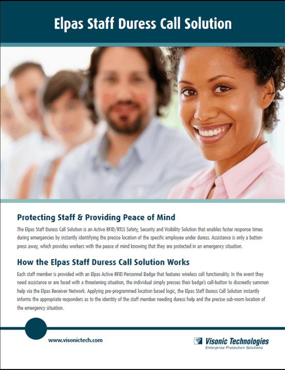 Eplas Staff Duress Call Solution